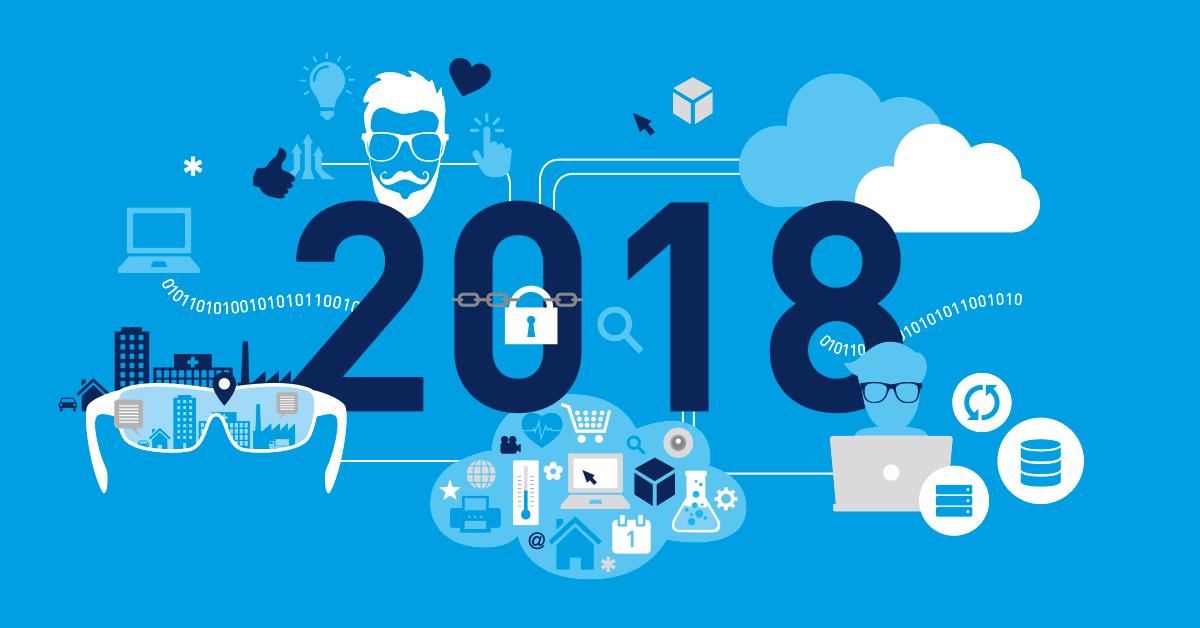 پیش بینی های فناوری اطلاعات در سال 2018