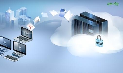 سرویس پشتیبانی آنلاین داده ها