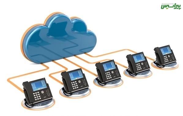 تلفن ابری